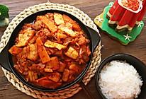 韩式辣白菜炒五花肉的做法