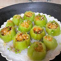 #饕餮美味视觉盛宴#蒜蓉粉丝蒸丝瓜的做法图解8