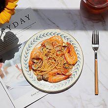 #精品菜谱挑战赛#海鲜茄汁意大利面