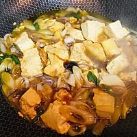 大葱烧豆腐的做法图解6