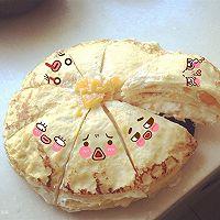 榴莲芒果千层蛋糕的做法图解2