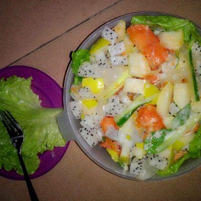 美味减肥美白果蔬沙拉