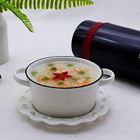 虾仁青豆糯米粥的做法图解9