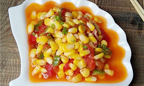 番茄玉米丁的做法