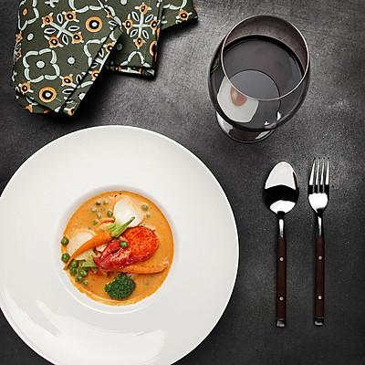 【鸚鵡廚房】法式傳統龍蝦濃湯