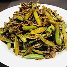 #美食视频挑战赛#真的是下饭菜—梅干菜烧刀豆
