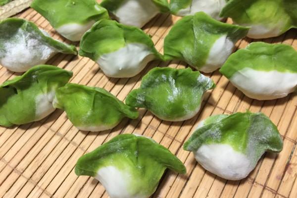 翡翠白菜-------新年饺子的做法
