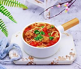 番茄肉丸汤#春季食材大比拼#的做法