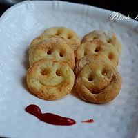 六一儿童节让我们一起嘴角上扬----笑脸土豆饼