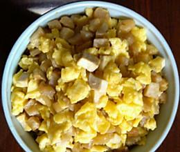 萝卜干炒鸡蛋的做法
