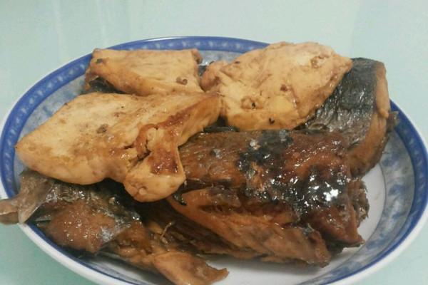 鲅鱼炖豆腐的做法