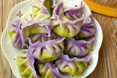 美貌与美味并存的郁金香饺子#太太乐鲜鸡汁中式#