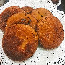 南瓜饼(黑芝麻馅儿)