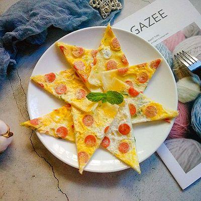 营养早餐——鸡蛋火腿饼