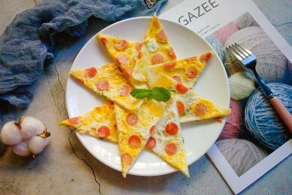 营养早餐——鸡蛋火腿饼的做法
