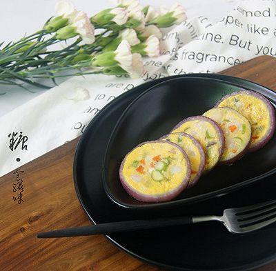挑吃的小朋友也会爱上  【鲜虾杂蔬洋葱圈蛋饼】