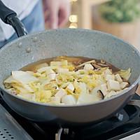 白菜虾皮豆腐煲的做法图解13