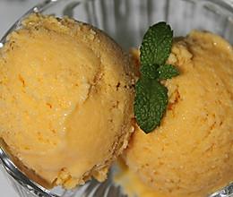 简易放心的diy冰品----『芒果冰淇淋』的做法