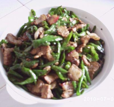 农家辣椒炒肉