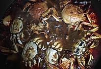 辣炒河蟹的做法