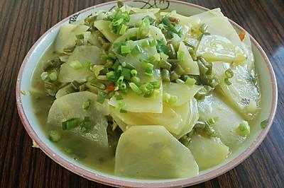 重庆家常泡菜土豆片