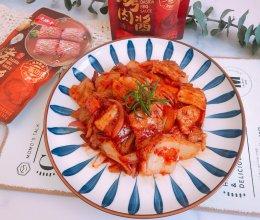 #烤究美味 灵魂就酱#辣白菜炒五花肉的做法
