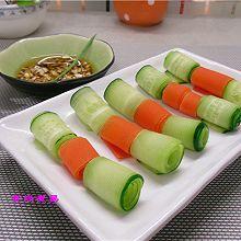 黄瓜胡萝卜卷