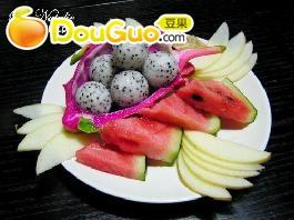 团年菜水果拼盘图片
