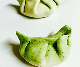 翡翠白菜饺的做法