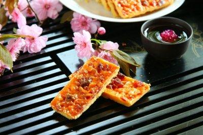 焦糖蔓越莓杏仁酥饼