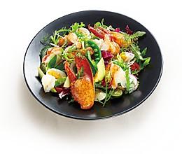 波士顿龙虾蔬菜沙拉的做法