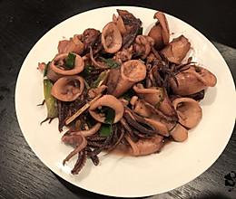 鱿鱼蚝油是绝配的做法