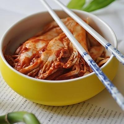 正宗韩式料理:韩国辣白菜