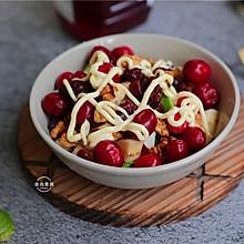 """#""""莓""""好春光日志#蔓越莓核桃水果沙拉"""