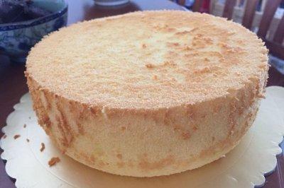 8寸百香果戚风蛋糕