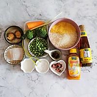豌豆汁心饭团 太太乐鲜鸡汁蒸鸡原汤的做法图解1