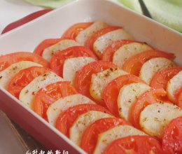 番茄土豆烤片的做法