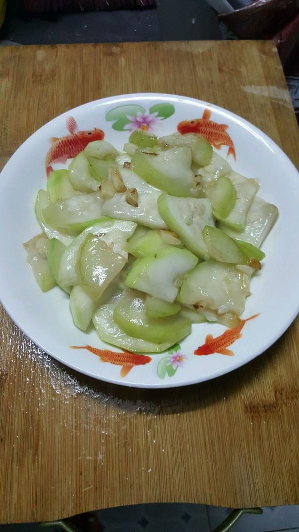 蒜蓉炒蒲瓜(葫芦瓜)的做法