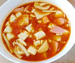 夏日开胃!番茄豆腐煲的做法