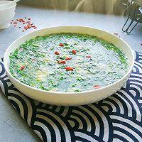 #节后清肠大作战#菠菜蛋花汤的做法图解10