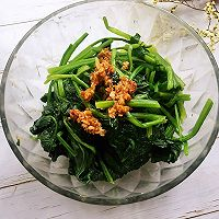 #爽口凉菜,开胃一夏!#凉拌菠菜的做法图解9
