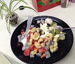 酸酸甜甜水果沙拉炎夏开胃的做法