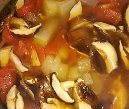 番茄冬瓜香菇汤的做法