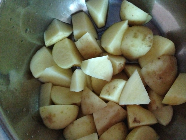 种植土豆切块步骤图