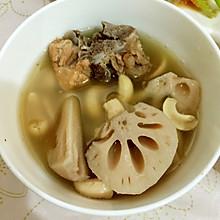 腰果莲藕大骨汤