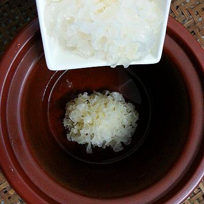 美丽尤物--银耳红枣羹的做法 步骤5