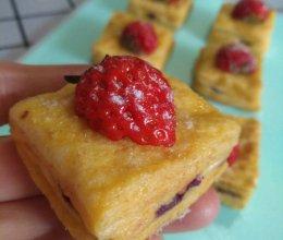 """#""""莓""""好春光日志#草莓西多士的做法"""