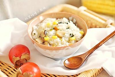 杂蔬白米粥-一人食