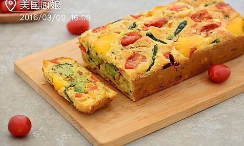 下午茶-西兰花山药法式咸蛋糕的做法