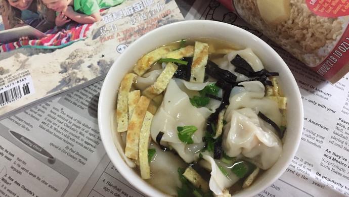 虾仁猪肉馄饨